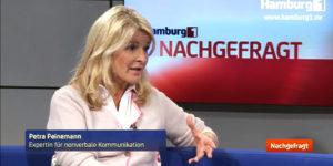 Bildausschnitt Fernsehinterview Hamburg 1